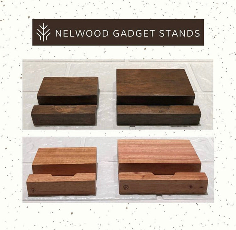 Nelwood acacia phone stand