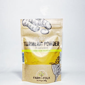 Farm to Folk Turmeric Powder