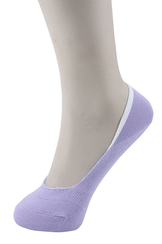 Invisible Liner Socks Purple Women