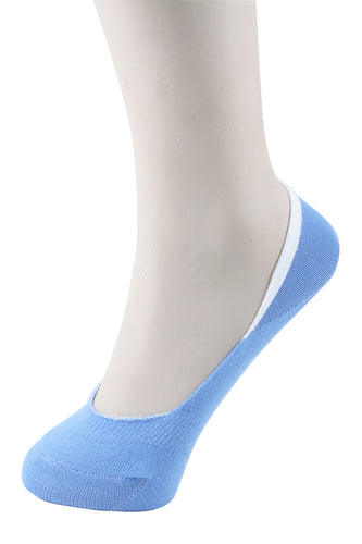 Invisible Liner Socks Blue Women