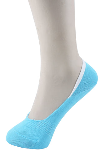 Invisible Liner Socks Turquoise Women