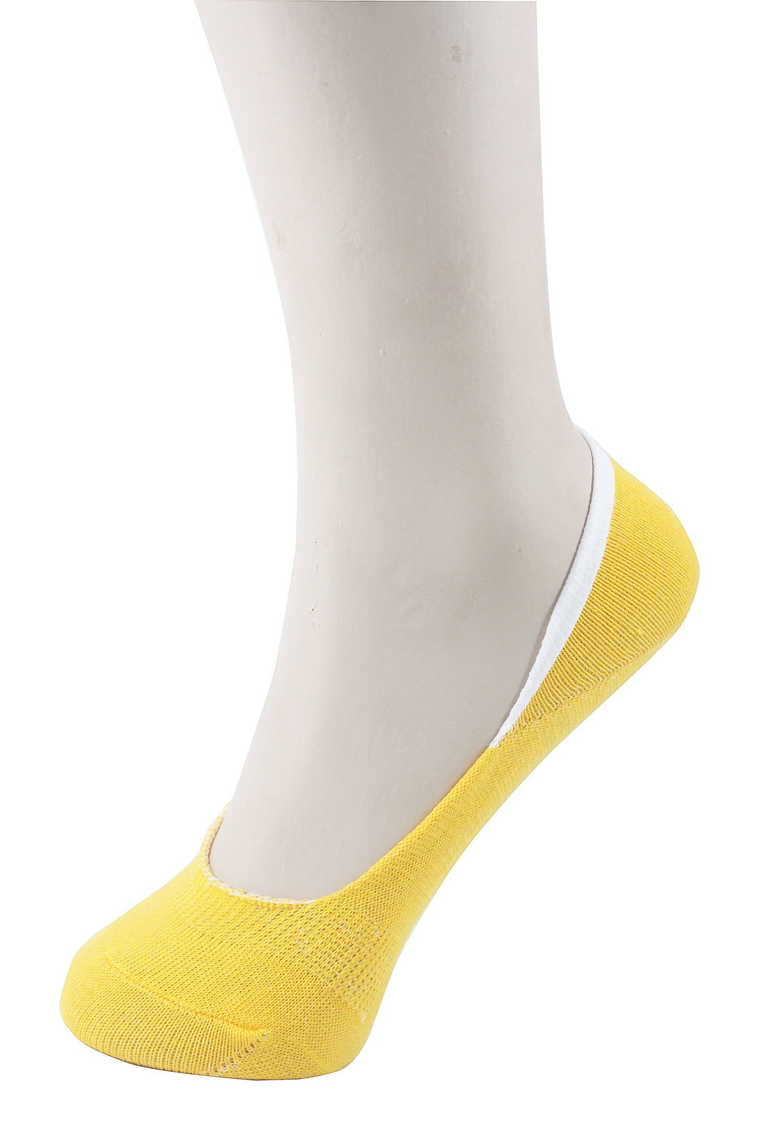 Invisible Liner Socks Yellow Women
