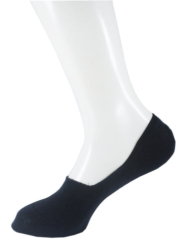 Invisible Liner Socks Black Men