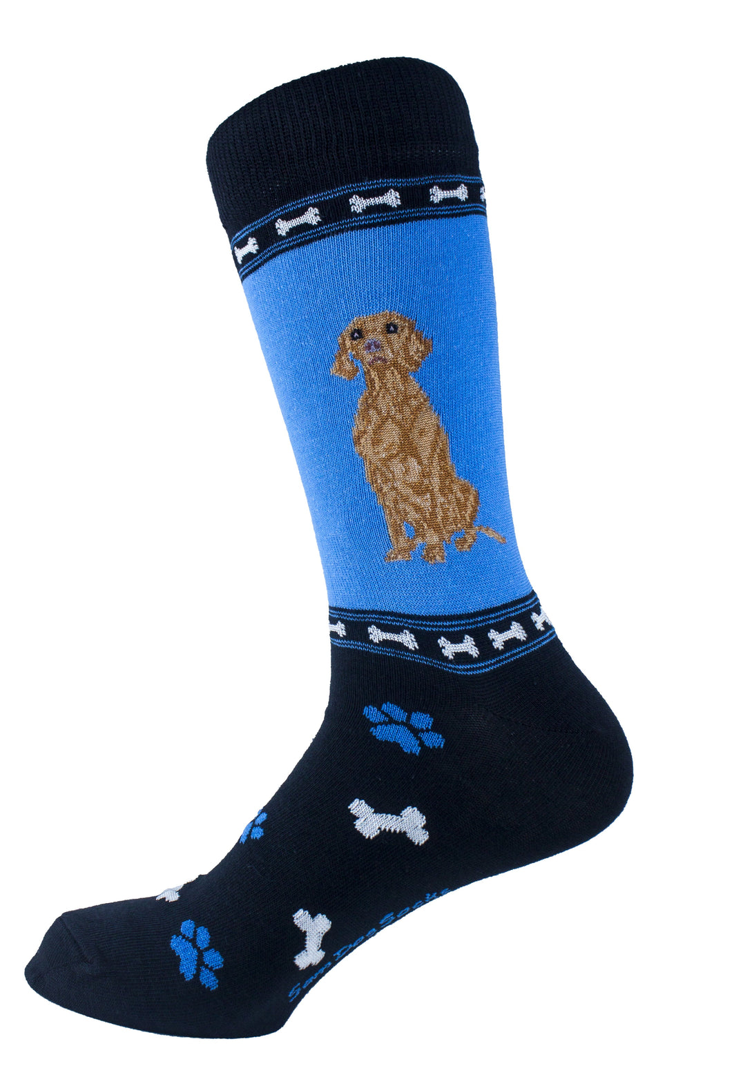 Vizsla Dog Socks Mens Signature