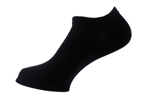 Ankle Socks Women Black - samnoveltysocks.com