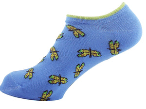 Ankle Socks Women Dragonfly - samnoveltysocks.com