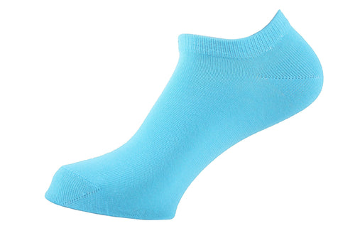Ankle Socks Women Turquoise - samnoveltysocks.com
