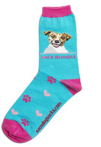 Jack Russell Dog Socks - samnoveltysocks.com