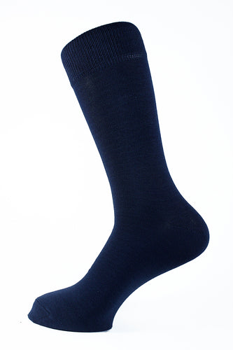 Navy Blue Men Socks - samnoveltysocks.com