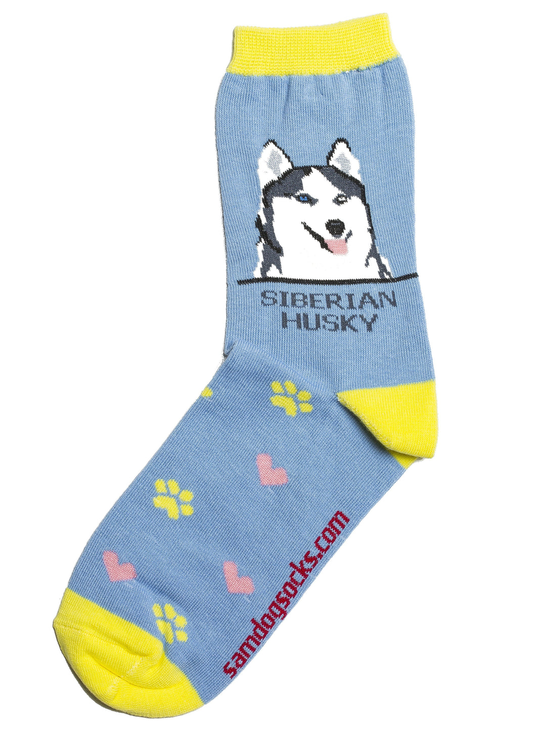 Siberian Husky Dog Socks - samnoveltysocks.com