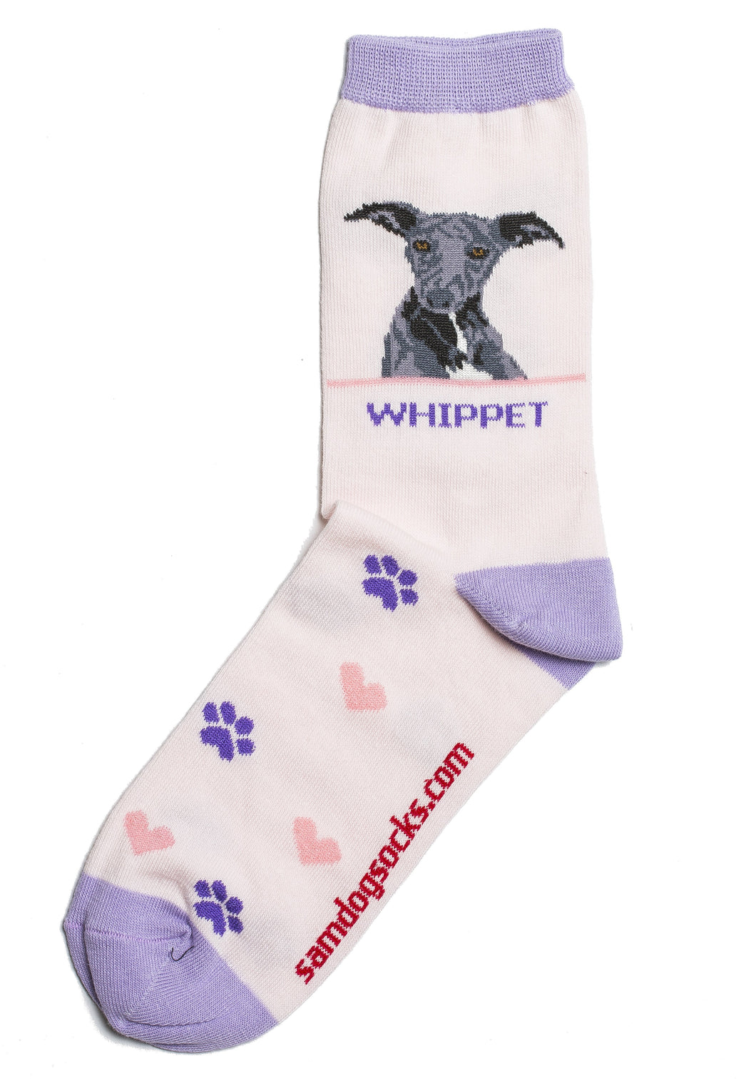 Whippet Dog Socks - samnoveltysocks.com