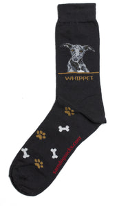 Whippet Dog Socks Mens - samnoveltysocks.com