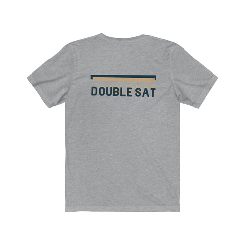 DOUBLE SAT | Blue & Tan - Hospitaliteeshirts