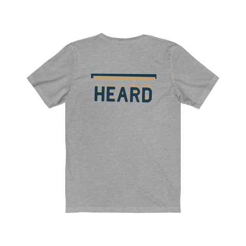 HEARD | Blue & Tan - Hospitaliteeshirts