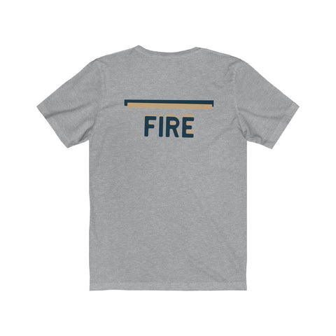 FIRE | Blue & Tan - Hospitaliteeshirts