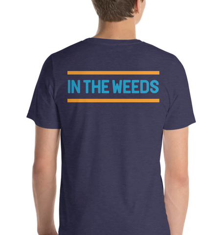 IN THE WEEDS | Blue & Orange - Hospitaliteeshirts