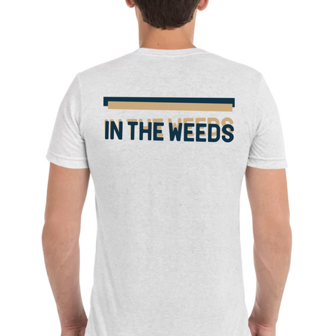 IN THE WEEDS | Blue & Tan - Hospitaliteeshirts