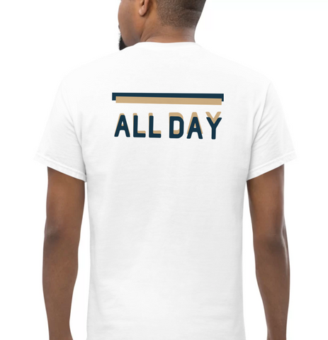 ALL DAY | Blue & Tan - Hospitaliteeshirts