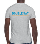 DOUBLE SAT | Orange & Blue - Hospitaliteeshirts