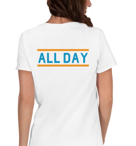 ALL DAY | Blue & Orange - Hospitaliteeshirts