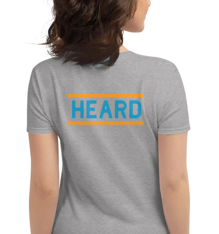 HEARD | Blue & Orange - Hospitaliteeshirts