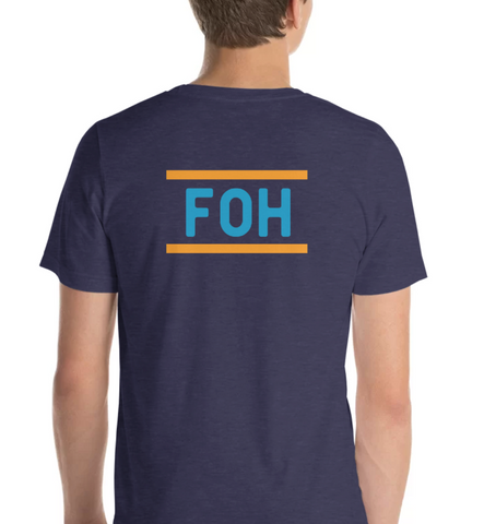 FOH | Blue & Orange - Hospitaliteeshirts