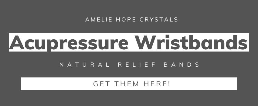Amelie Hope Crystals seller of natural crystals and acupressure anxiety bracelets