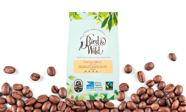 Organic fairtrade coffee
