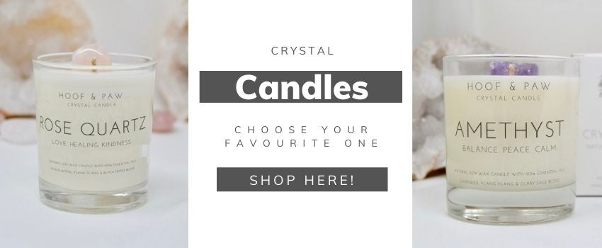 Crystal Candles to shop online and add to your must-have list of selfcare products