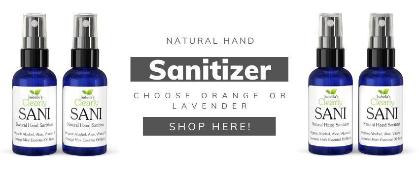 Natural Hand Sanitizer - Natural Selfcare Products