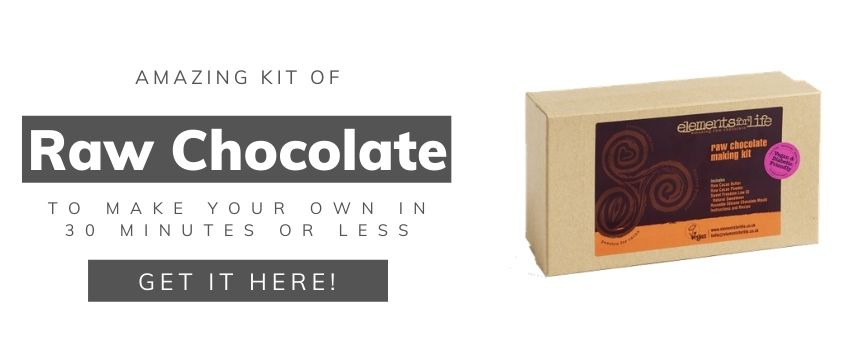 Raw Chocolate Starter Kit - Selfcare products to stay at home