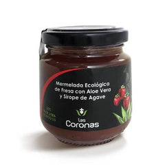 Organics jams and marmalades with aloe vera and agave syrup