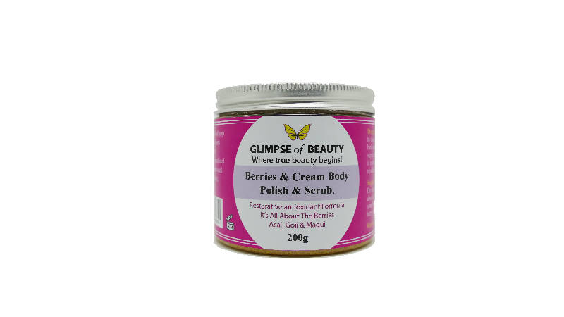 Berries & Cream Body Polish & Scrub
