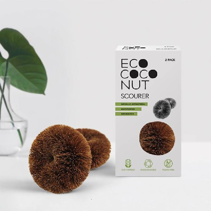 Coconut Multipurpose Scourers Twin Pack
