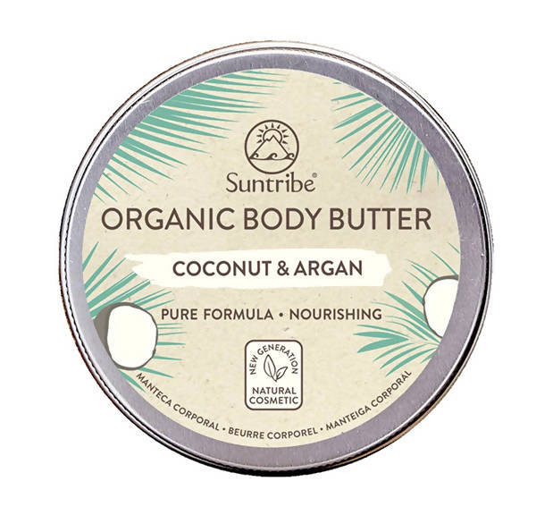 All Natural Body Butter Coconut & Argan