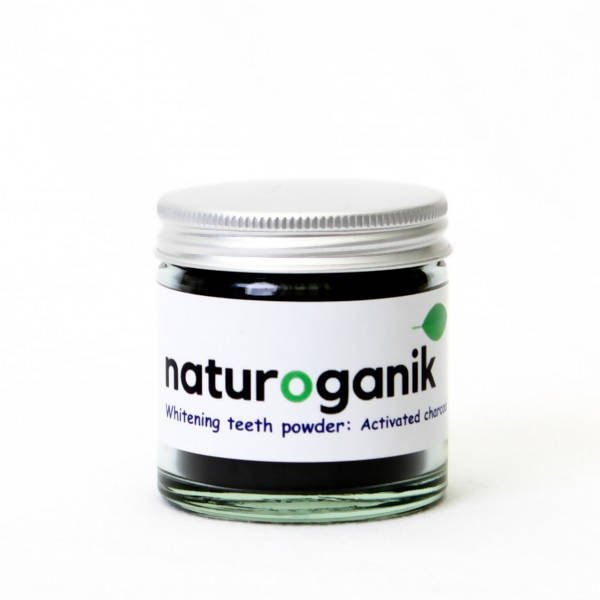 Natural Whitening Powder: Activated Charcoal | 60ml