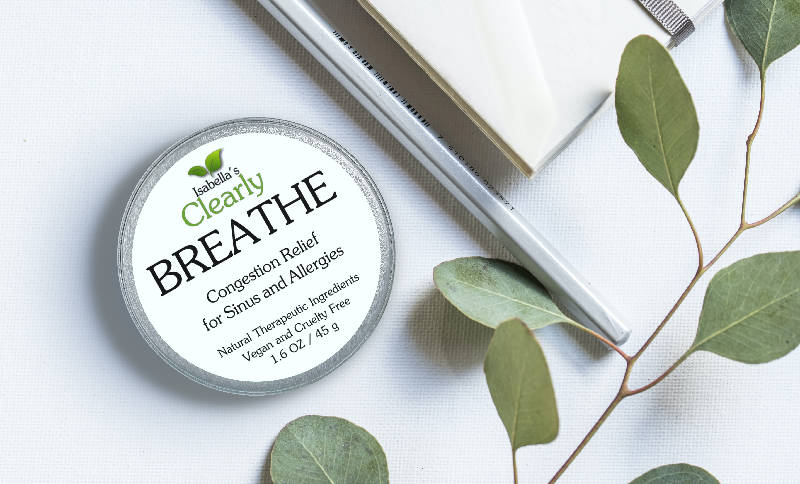 Clearly BREATHE, Natural Congestion Relief for Sinus and Allergies