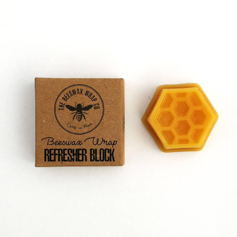 Food Wrap Wax Refresher Block