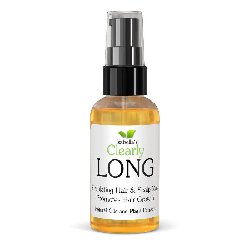 Clearly LONG, Leave In Hair Strengthening Oil Treatment