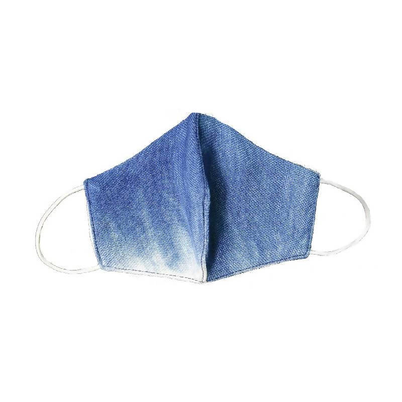 Reusable Dip Dyed Linen Facemask