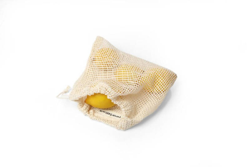 Organic Cotton Mesh Grocery Bag - Turtle Bags