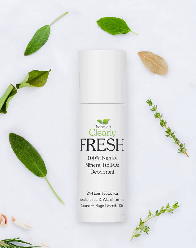 Clearly FRESH, Natural Magnesium Deodorant (Geranium Sage)
