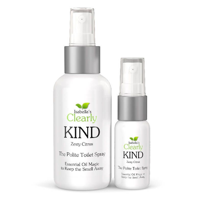 Clearly KIND, The Polite 'Before You Go' Toilet Spray (Zesty Citrus)