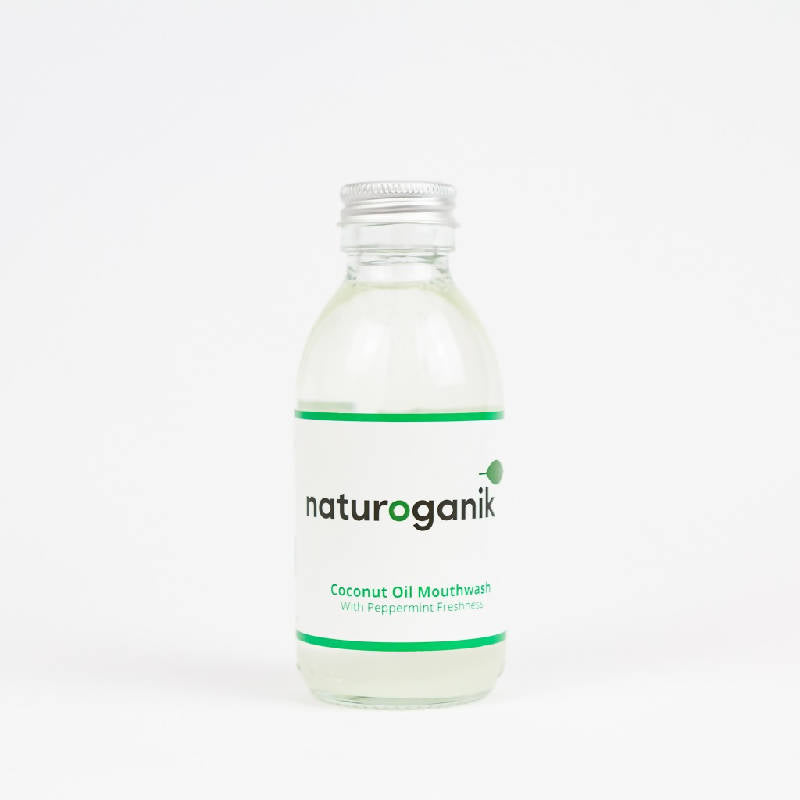 Natural Coconut Oil Mouthwash With Peppermint Freshness | Pulling Oil