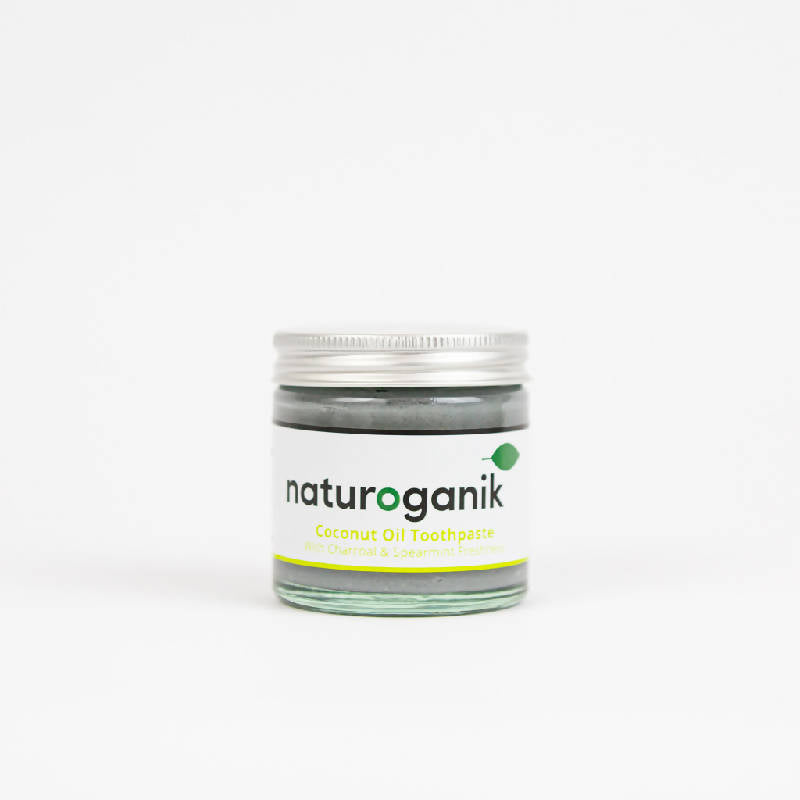 Natural Coconut Oil Toothpaste With Charcoal & Spearmint Freshness |60ml | 120 ml