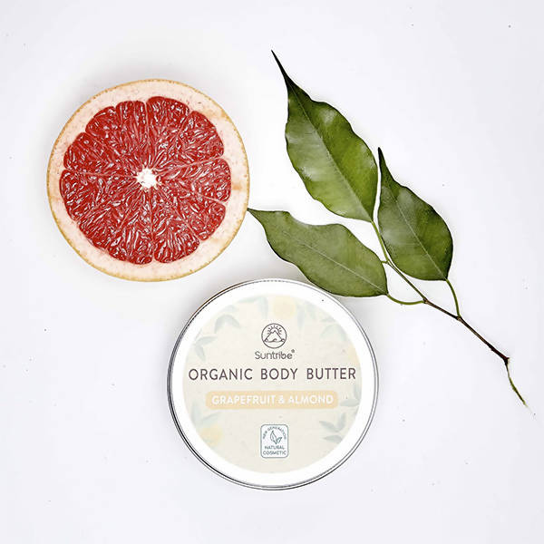 All Natural Organic Body Butter Grapefruit & Almond