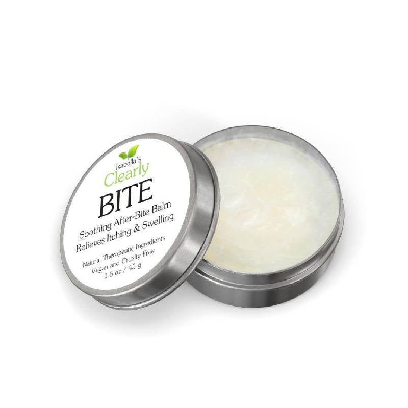 Clearly BITE, After Bug Bite Relief Balm with Calendula and Lavender - Open
