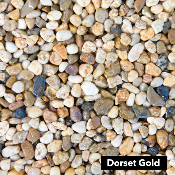 Dorset Gold 6-10mm triple washed stone
