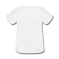 Baby Lap Shoulder T-Shirt - white