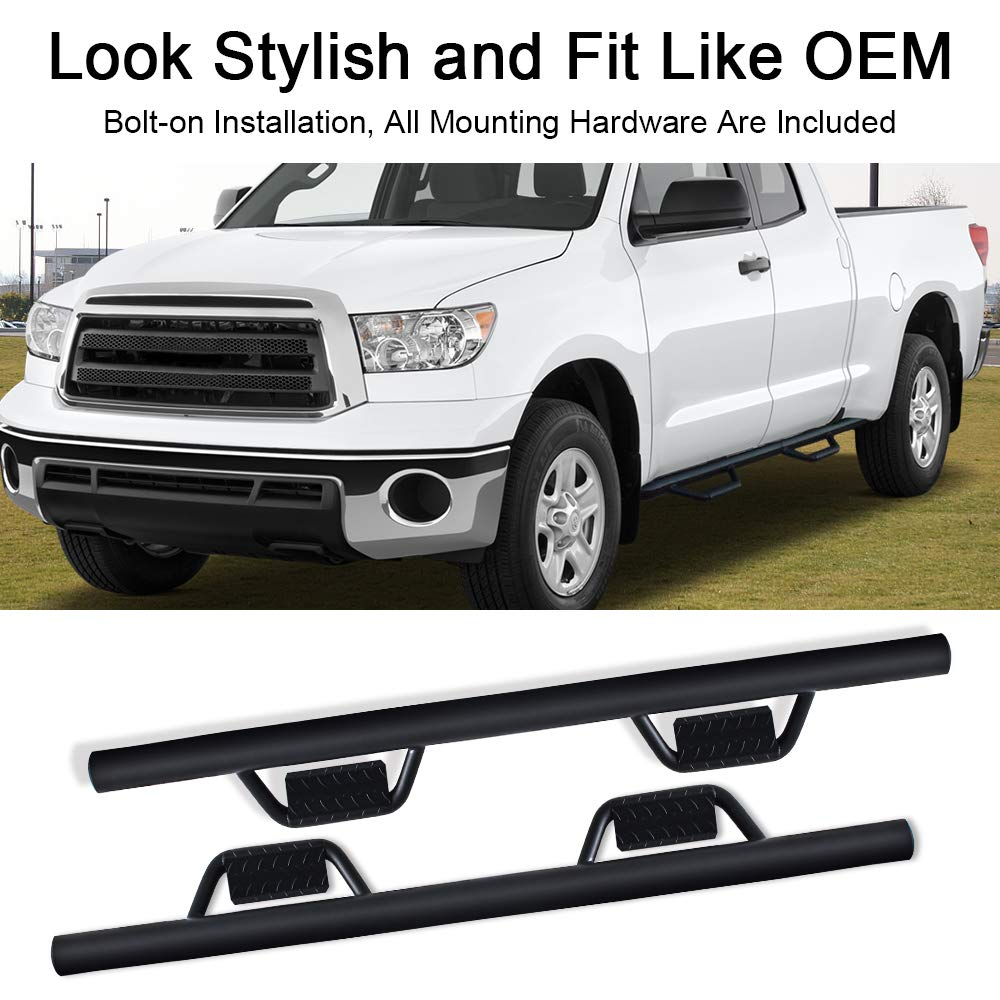 A&K Nerf Bars for Toyota Tundra Double Cab 2007-2020
